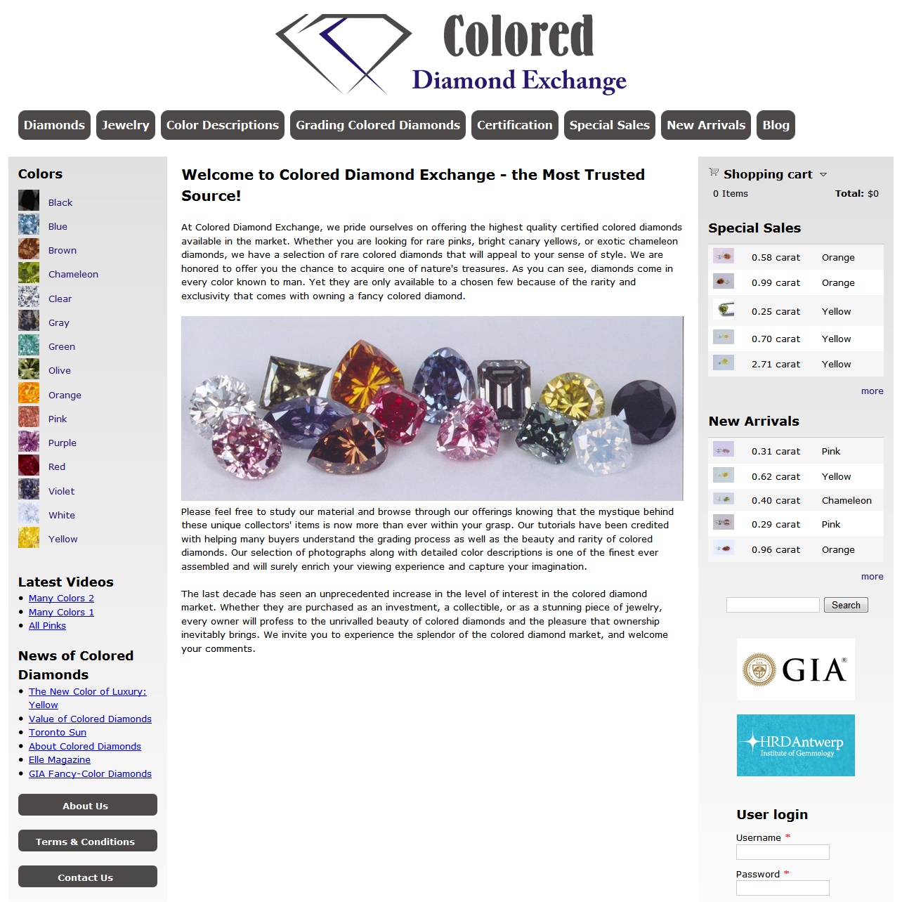 PG Services - Colored Diamond Exchange [square]